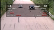 Bmw M3 E92 vs Jeep Srt8