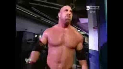Wwe Backlash 2003 - The Rock Vs Goldberg