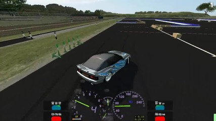 [lfs] drifting with hot tires