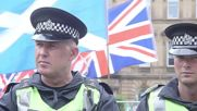 UK: Anti-fascists gather to protest against SDL rally in Glasgow
