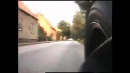 Ghost Rider vs police