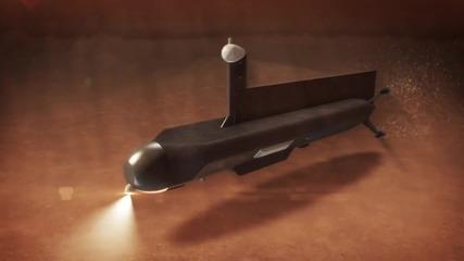 Подводница ще изследва метановите езера на сатурновата луна Титан