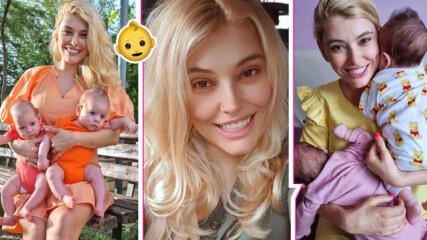 Ева Веселинова най-сетне показа близнаците, но таткото е все още в мистерия