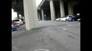 Mazda rx8 полудява на паркинг + Много як тунинг .. Трябва да се види задължително