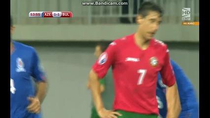 Азербайджан 1:2 България (бг аудио)