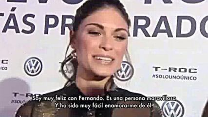 Линда Морсели: Аз Съм Много Щастлива Със Фернандо Алонсо! ♥ Формула 1 Двойка ♥