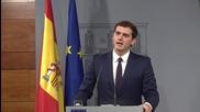 Spain: Rajoy meets Ciudadanos leader for talks on forming new govenrment