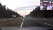 Как руски полицаи спират тир!