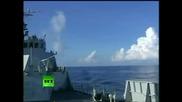 Тренировка на Флота на Китайската народна освободителна армия