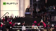 Bernie Sanders Sticks It To Corporate America in New York Rally