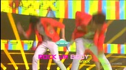 (hd) Vixx - Rock ur body ~ Inkigayo (26.08.2012)