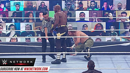 Bobby Lashley tosses aside Sami Zayn's maneuvers: Survivor Series 2020 (WWE Network Exclusive)