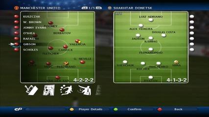 Pes 2011 Manchester United Champions League - Еp.2 - Във групите