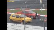 Renault Clio Williams vs Peugeot 405 Mi16