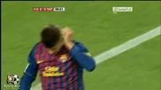 Двоен удар на Кавани с/у Барселона