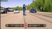 Porsche 911 Turbo Rinspeed vs Porsche 911 Turbo stock