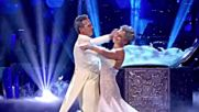 Katie Derham and Brendan Cole Viennese Waltz to White Christmas by Otis Redding
