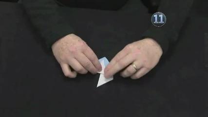Как се прави кутия със формата на звезда от хартия *оригами*