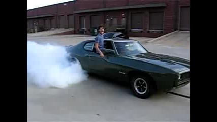 1969 Gto Burnout