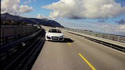 Hd Viking Routes - 2011 Audi R8 Spyder Tackles Norway's Atlantic Road