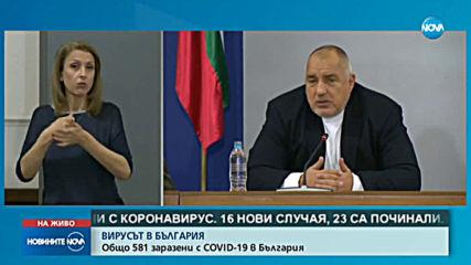Борисов: Ако футболни отбори тренират, да бъдат наказани