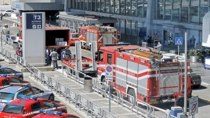 Rome Airport Closed After Fire Terminal Fire, no Serious Injuries