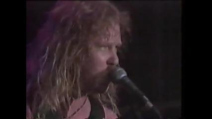 Metallica - Sad But True moscow 1991