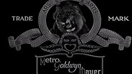 Metro Goldwyn Mayer Logo 1934-1953 B&W