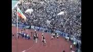 Агитка Сектор Б - Левски 09.05.2009