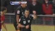 Manchester United - Tottenham Hotspur 2 - 0 Nani