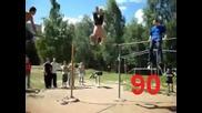 Луд руснак прави 100 слънца
