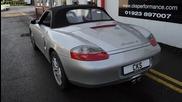 Porsche Boxster S Cks Sport Exhaust and Brakes