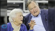 Ex-President George H.W. Bush Leaves Hospital