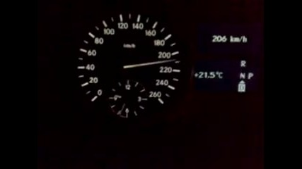 Mercedes Ml 320 Cdi from 60 - 220km/h