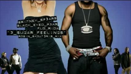 Britney Spears Vs Black Eyed Peas Vs Flo Rida - 3 Sugar Feelings