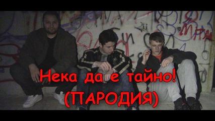 Деси Слава и Галин - Нека да е тайно (Пародия)