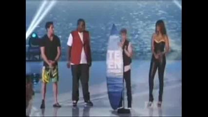 Justin Bieber Teen Choice Awards 2011 Best Male Artist
