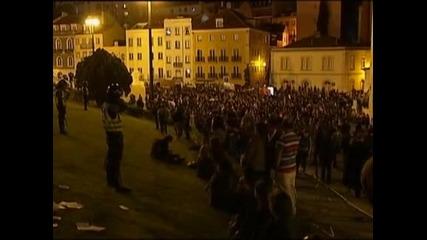 Масови протести се проведоха в Португалия  срещу проектобюджета за 2013г.