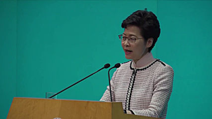 Hong Kong: Carrie Lam dismisses criticism of her policy address