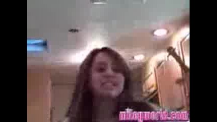 Miley Cyrus new movie song & Singing In Her Hotel Room