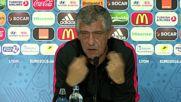 France: Portuguese coach Santos discusses tactics ahead of semi-final clash