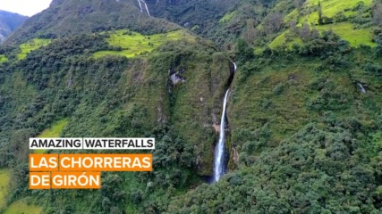 Amazing Waterfalls: The Enchanted Waterfalls of Ecuador