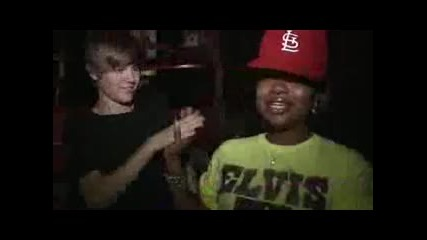 Justin Bieber ft. Usher - Somebody to love (remix) Behind the Scenes