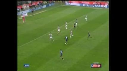 """Ювентус"" победи ""Интер"" в Милано и гледа към титлата"