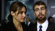 Insurgent Premiere NYC: Shailene Woodley and Theo James