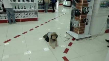 Русначе крещи в супермаркет