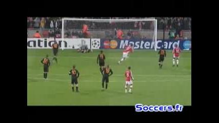 24.02 Шампионска Лига - Арсенал Vs. Рома 1:0