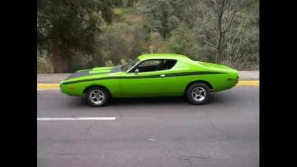 Dodge Charger 1972 Burnout