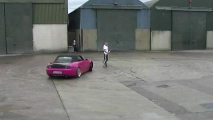 Хонда S2000 burnout