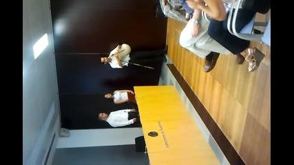 Презентация пред кметството и медиите в Бадалона, Испания, част 5
